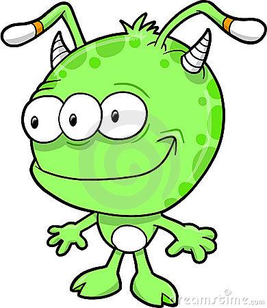 Alien clipart happy.  clipartlook