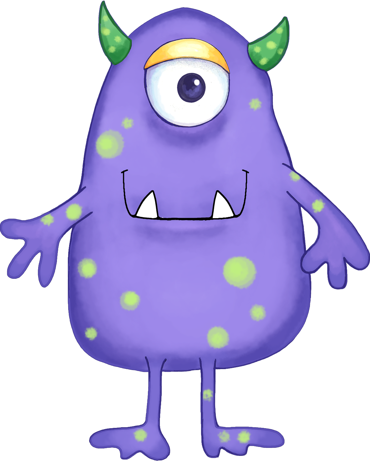 monster clipart lava monster