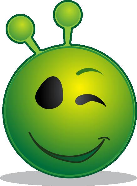 alien clipart happy