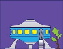 . Alien clipart house