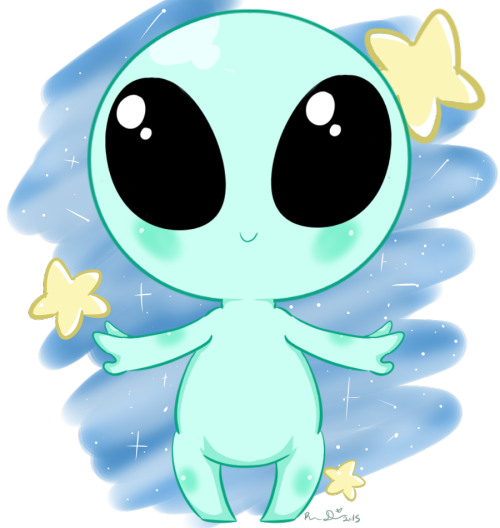 Image result for cute. Alien clipart kawaii