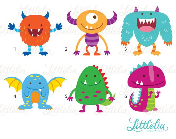Products in . Alien clipart monster