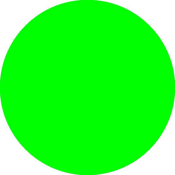 Neon Green Dot Clip Art at Clker