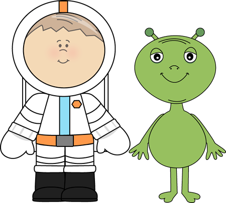 Clip art images and. Alien clipart outer space