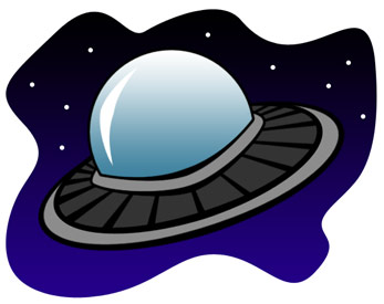 Alien clipart outer space. Spaceship cool images flying