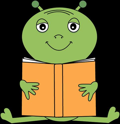 Alien clipart reading. Cliparts zone
