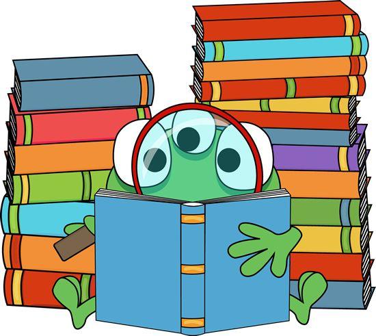 Alien clipart reading. Free cliparts download clip