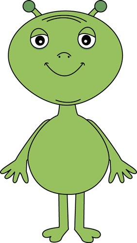 Free . Alien clipart real
