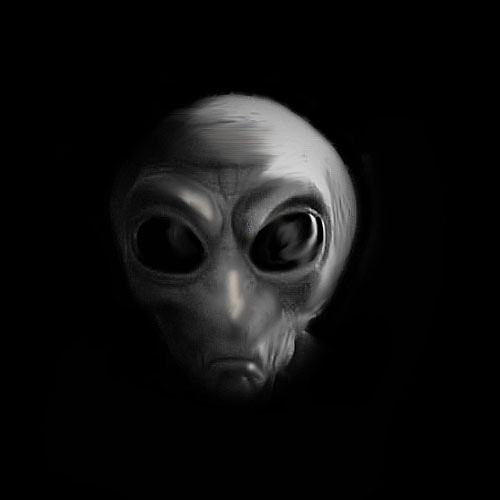 Alien clipart realistic. Drawings cool aliens to
