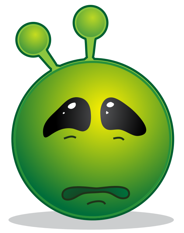 File smiley green alien. Leaf clipart face
