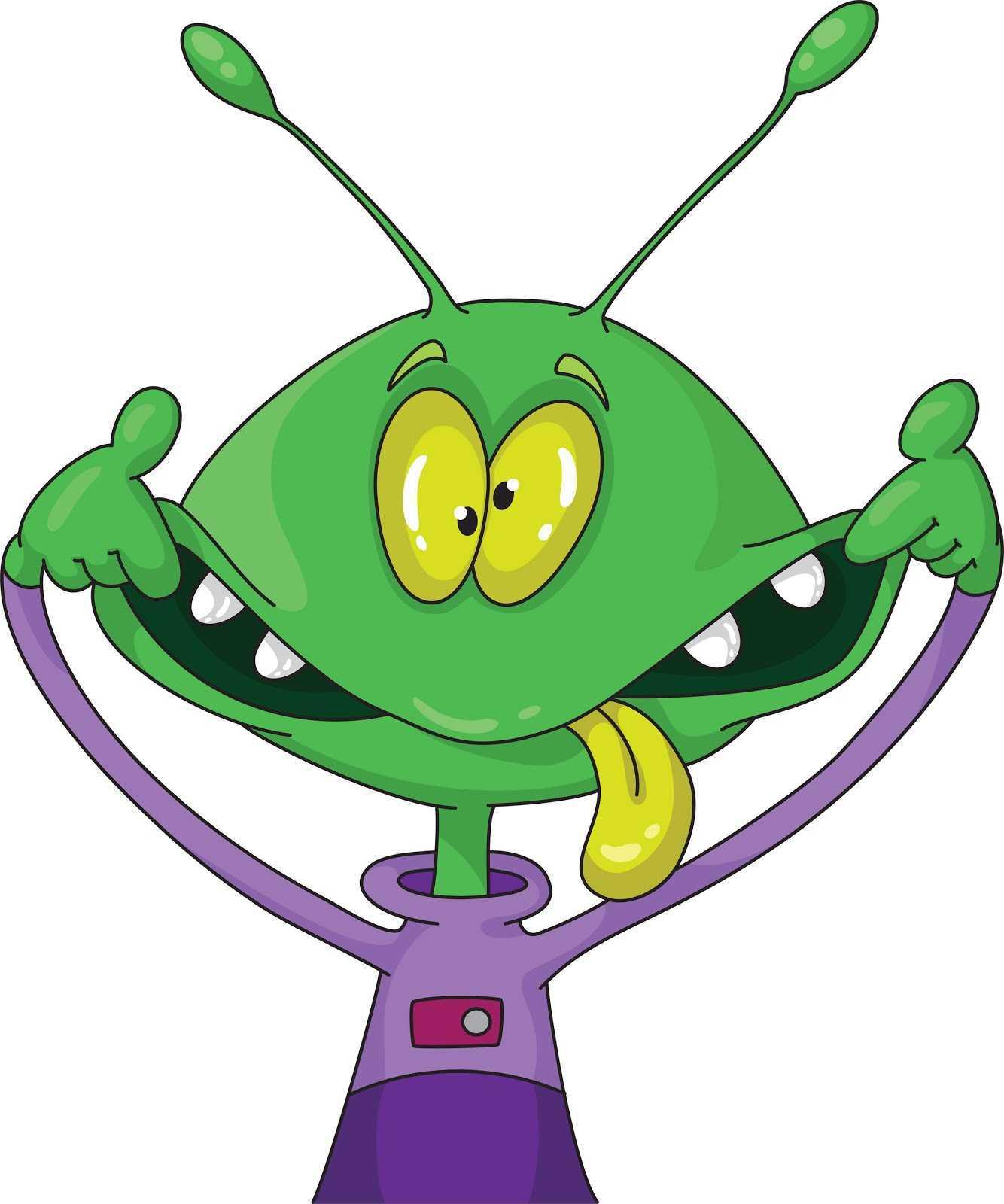 Alien clipart sick. Kids arts and crafts