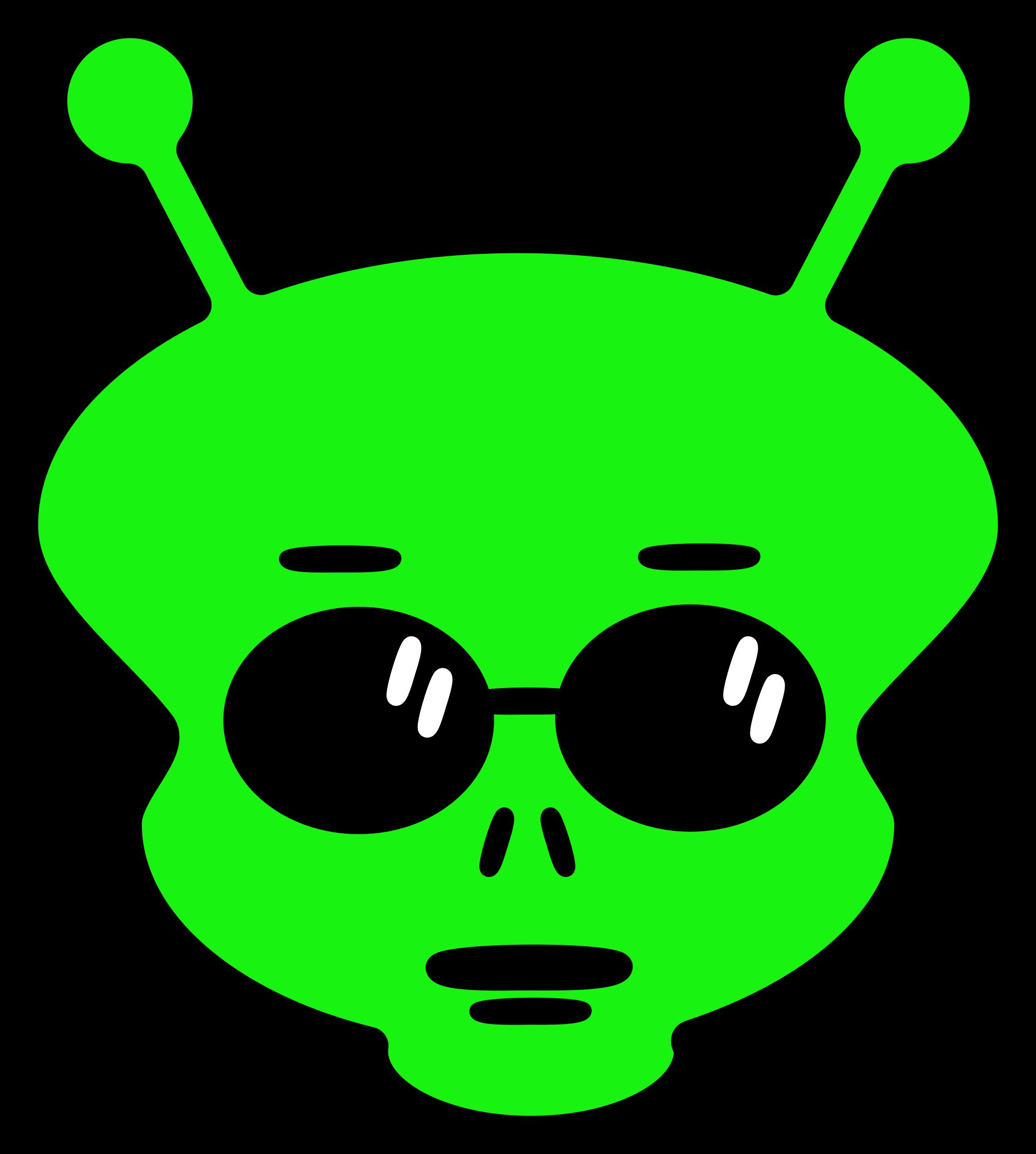 Peterm big image png. Alien clipart simple