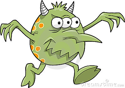 Alien clipart spooky. Monster clipartuse scary