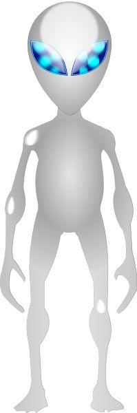 Alien standing