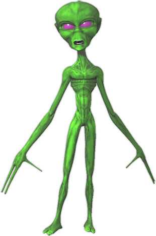 Free animated gifs green. Alien clipart transparent background