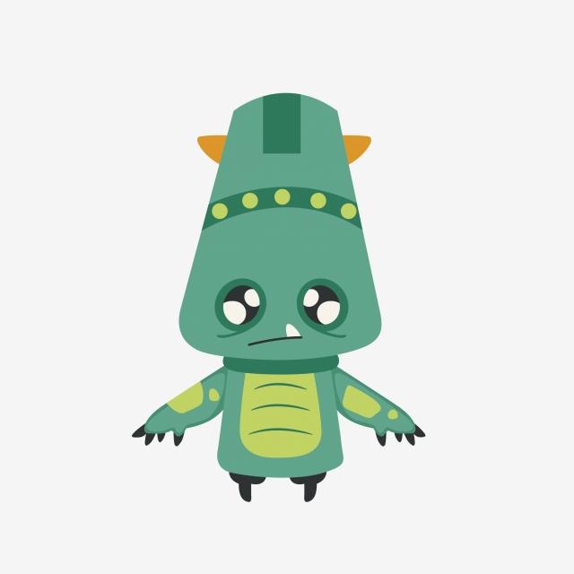 Cartoon alien png vector. Aliens clipart carton
