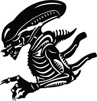 Amazon com aliens vinyl. Alien clipart xenomorph