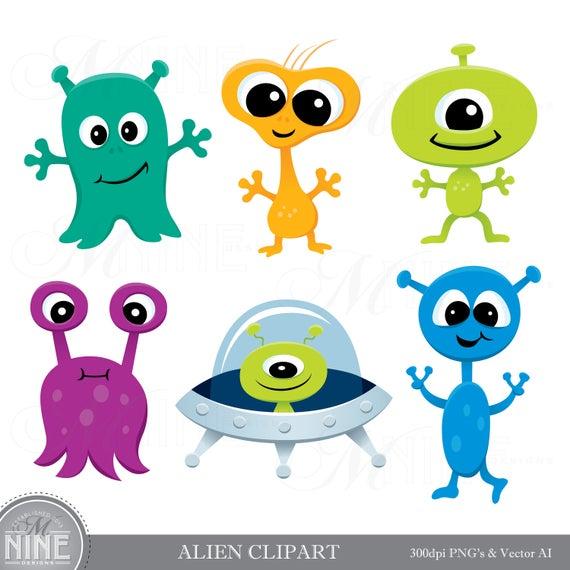 Aliens clipart. Alien clip art downloads