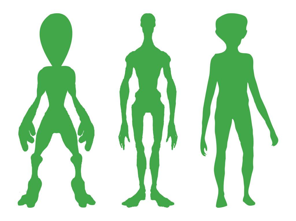 Free cartoon pictures of. Aliens clipart alien body