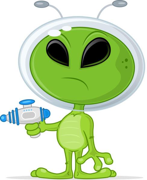 Alien gun clipground im. Aliens clipart alient