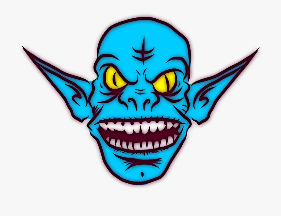 Aliens clipart goblin. Troll ugly monster alien