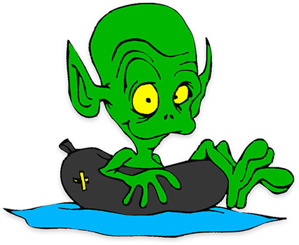 Aliens clipart green. Free alien animated gifs