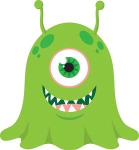 best monster printables. Arms clipart alien