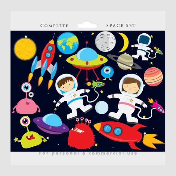 Planeten clipart construction paper. Space astronaut clip art