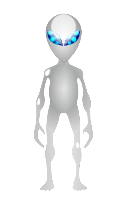 Alien clipart simple. Free and graphics of