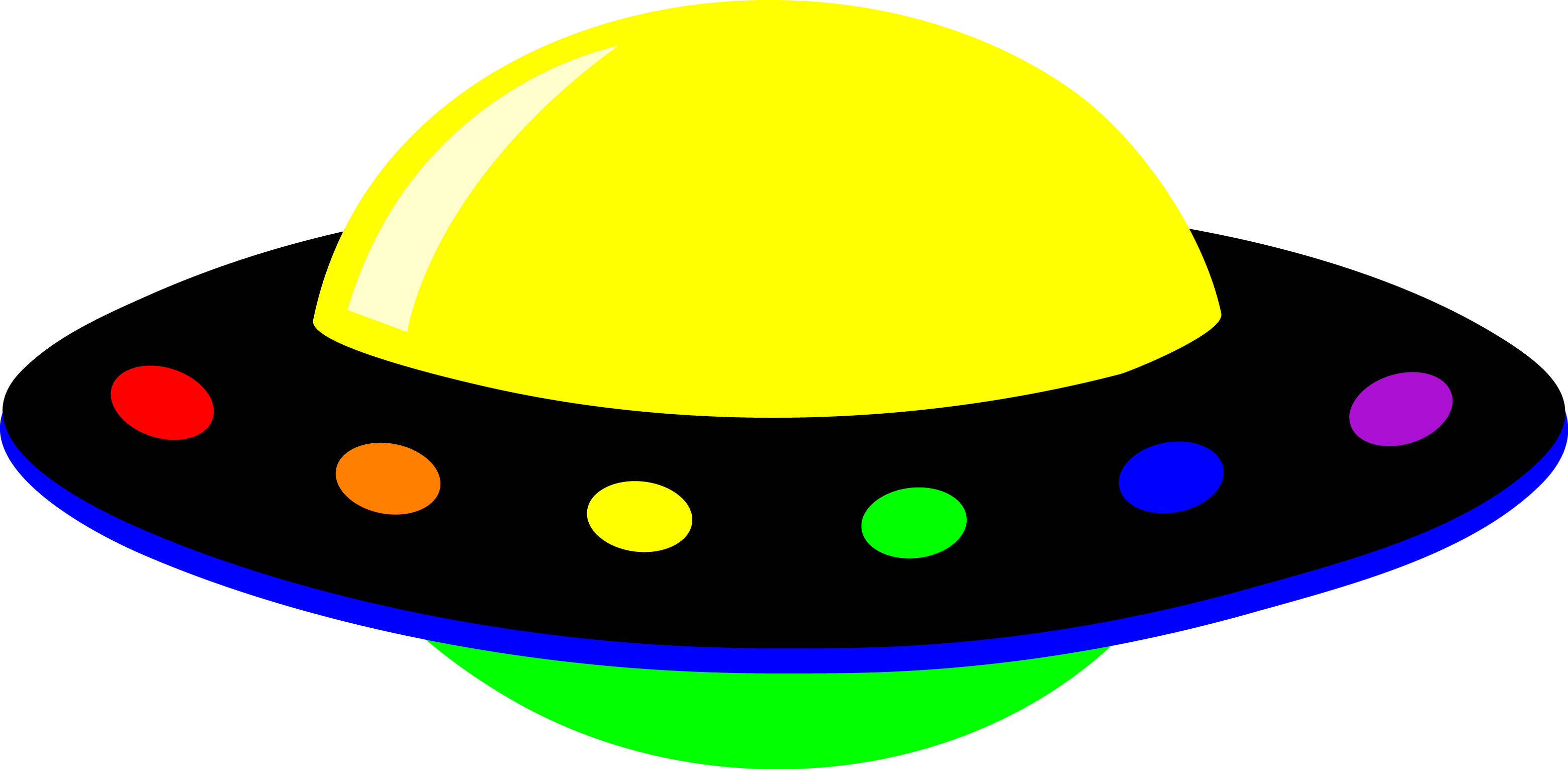 Alien spaceship panda free. Ufo clipart file