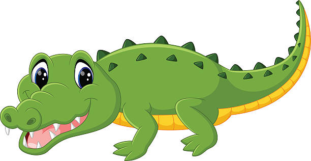 Cute clip art photo. Alligator clipart