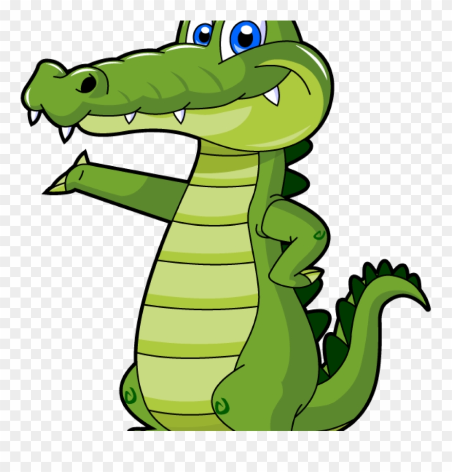 Cartoon huge . Alligator clipart