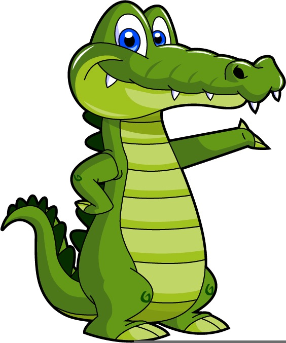 Panda free images crocodile. Alligator clipart