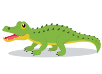 Free clip art pictures. Alligator clipart