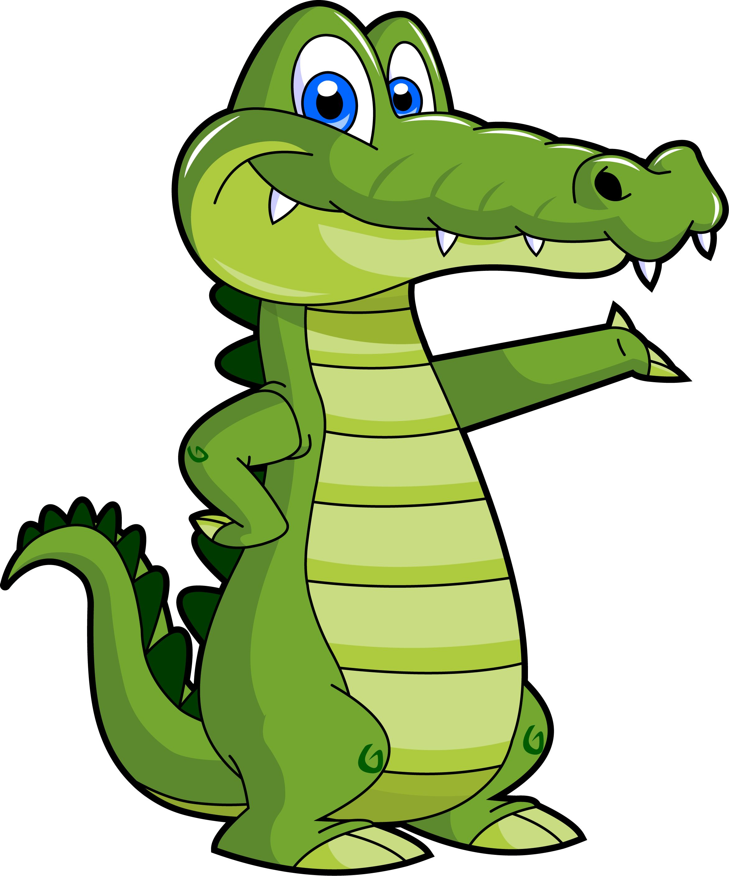 Alligator clipart animated. Girls cartoon