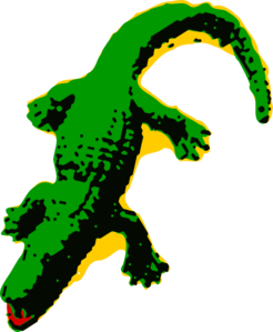 Free alligators clipartcow clipartix. Alligator clipart animated