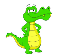 Alligator clipart animated. Free clip art pictures