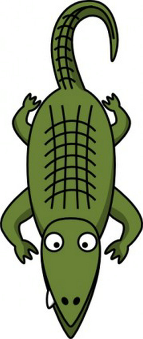 Alligator clipart animated. Free animations clipartandscrap