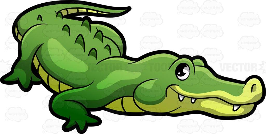 Alligator clipart caiman. Crocodile free download best