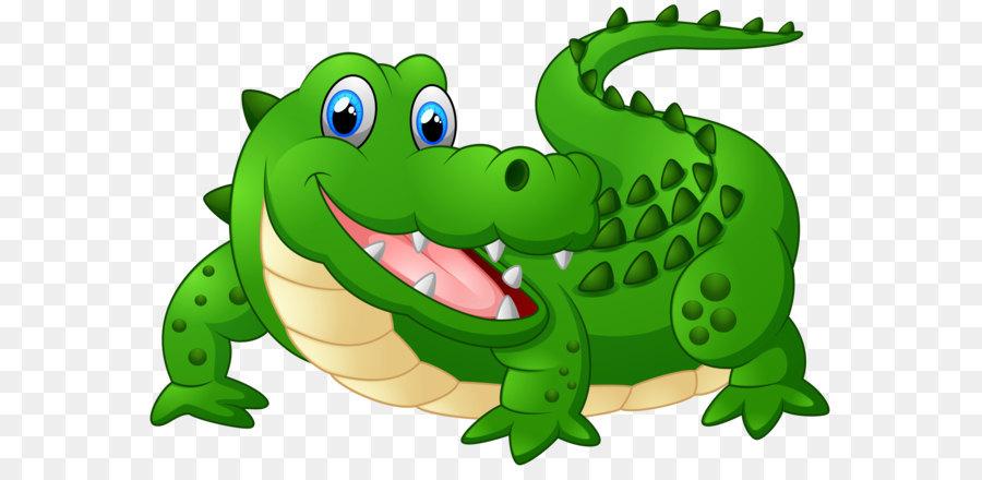 Alligator clipart caiman. Crocodile cartoon clip art