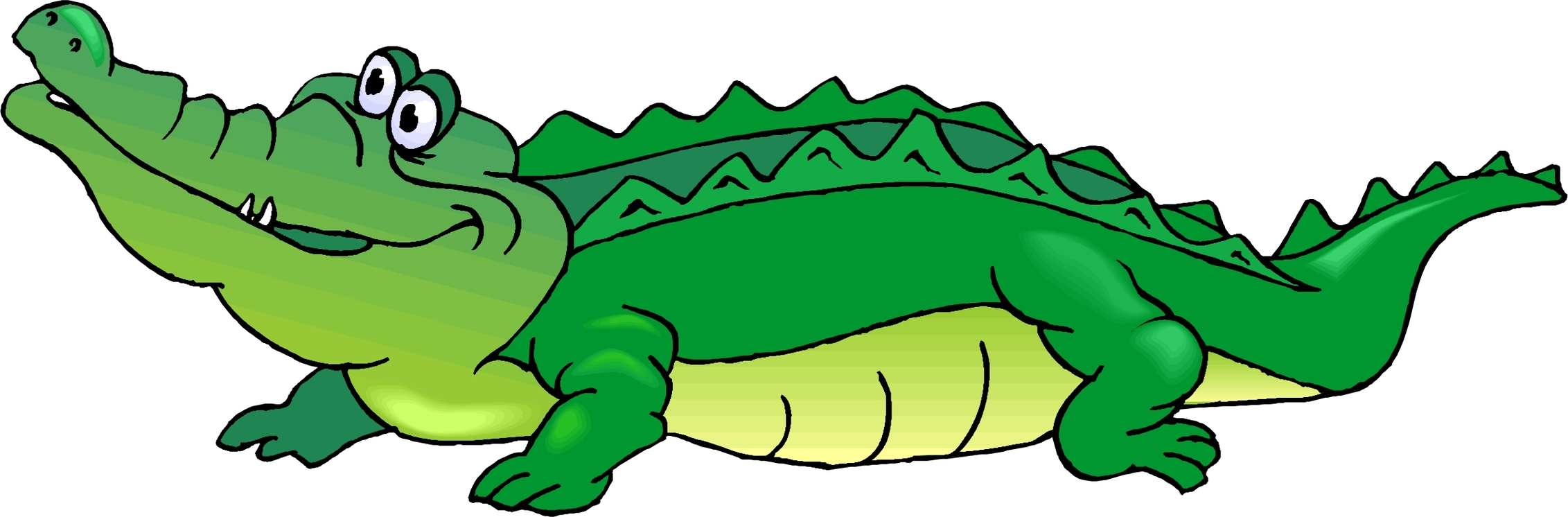Crocodile clipart croccodile. Cute alligator free download