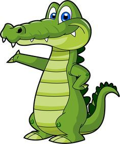 Cute baby alligator free. Gator clipart