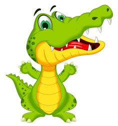 Cute baby alligator free. Back clipart crocodile