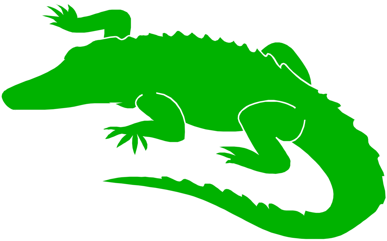 Alligator clipart easy. Collection of free download