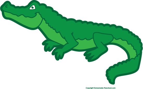 Crocodile free animations clipartix. Alligator clipart easy
