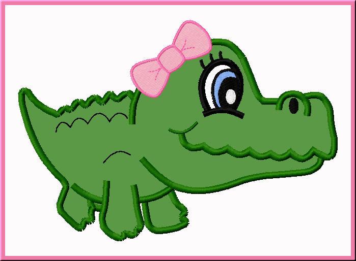 Crocodile free clip art. Alligator clipart easy