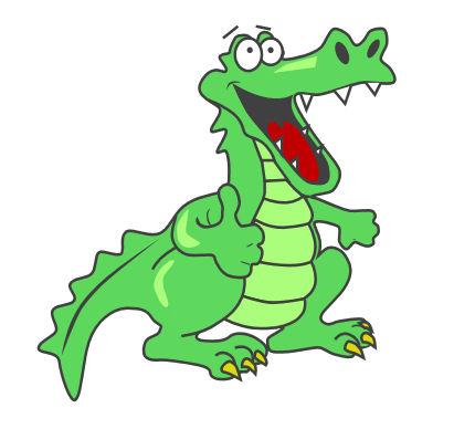 Free images download clip. Gator clipart alligator