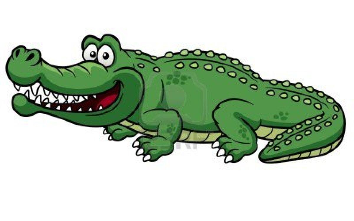 Crocodile clipartix. Alligator clipart kid