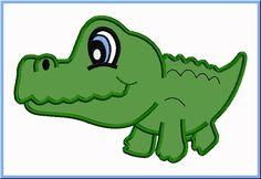 Pix for cute in. Alligator clipart purse