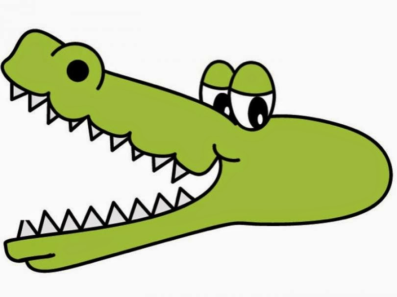 Free pictures for kids. Alligator clipart purse